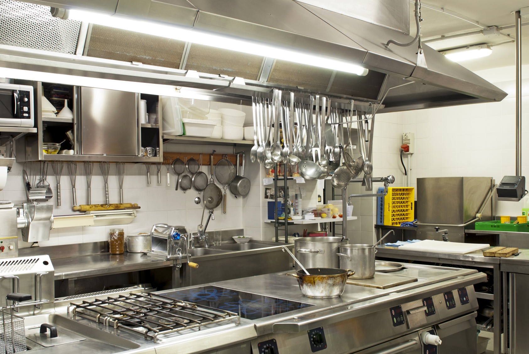 Extraction de cuisines paris ventilation for Cuisine professionnelle